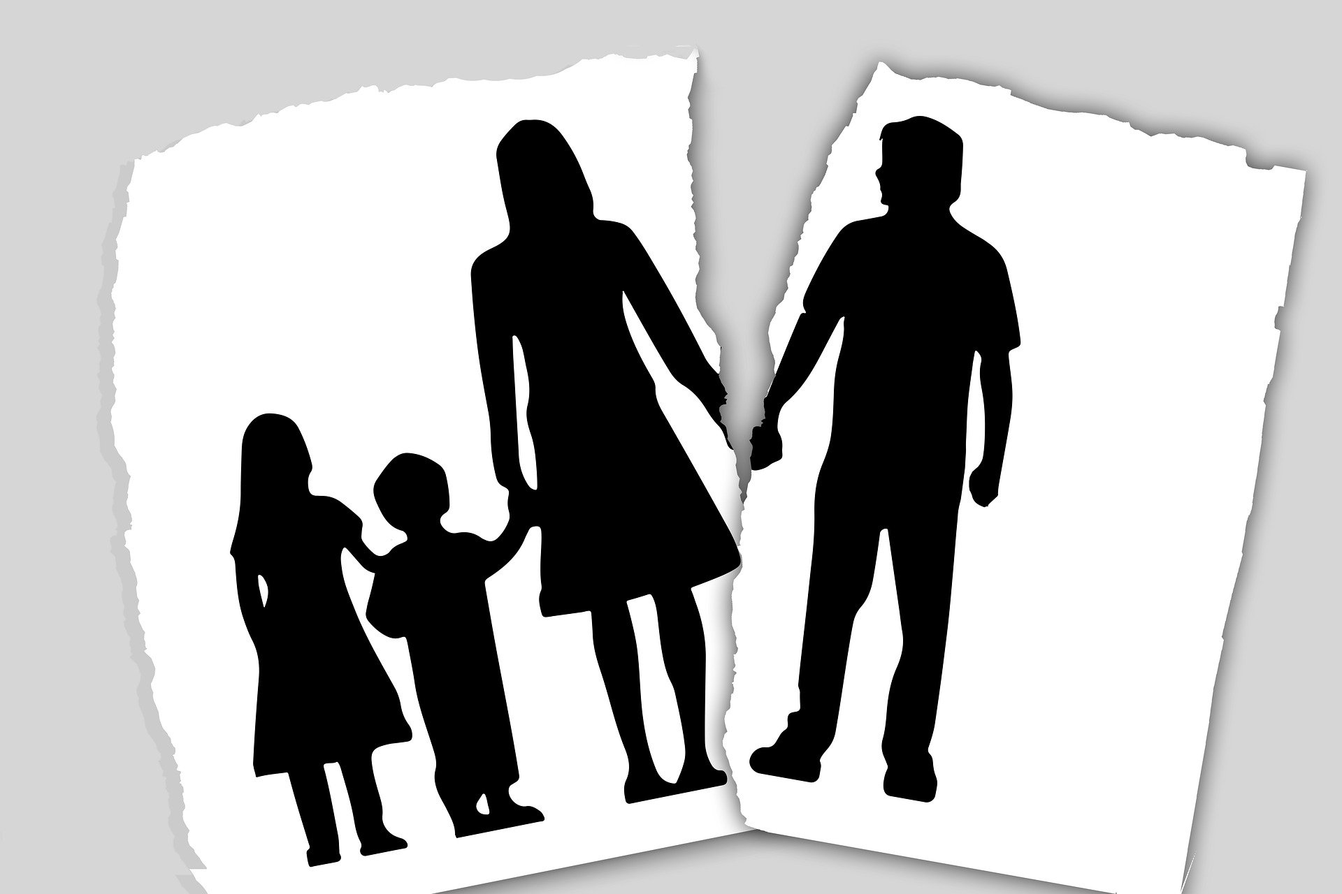 Trennung in der Familie